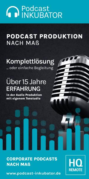 Podcast erstellen lassen mit Podcast-Inkubator.de
